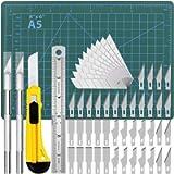 Precision Exacto Knife Upgrade Cutting Mat Carving Craft Knife Hobby Knife Exacto Knife Kit