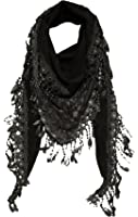 KMystic Lace Triangle Sheer and Winter Scarf