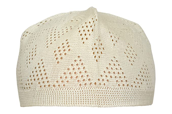 e8df500fbed Image Unavailable. Image not available for. Color  Manaal Enterprises  Islamic Hat Prayer Kufi Cotton Beanies Skull Cap Stretchable