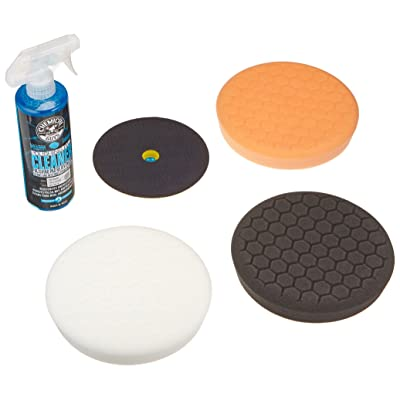 Chemical Guys BUF_HEXKITS_5 Rotary Pad Kit (5 Items): Automotive