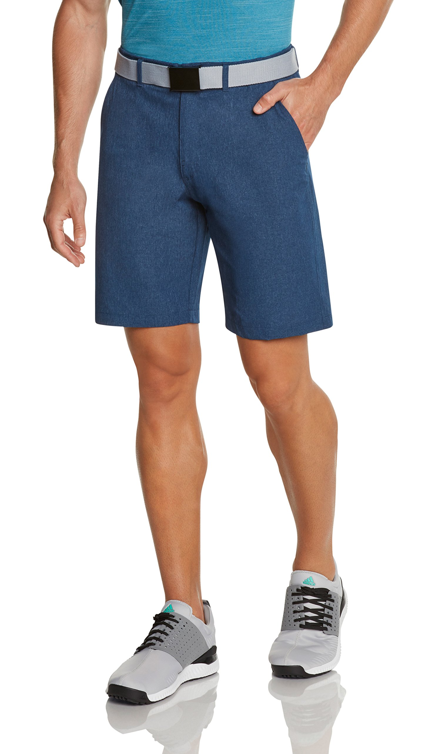 Jolt Gear Dry Fit Golf Shorts for Men – Casual Mens Shorts Moisture Wicking - Men's Chino Shorts with Elastic Waistband by Jolt Gear (Image #2)