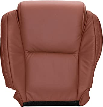 The Seat Shop Driver Bottom Replacement Seat Cover Red Rock Leather with Extra Seam Compatible with 2007-2013 Toyota Tundra Limited and 2008-2014 Sequoia Limited