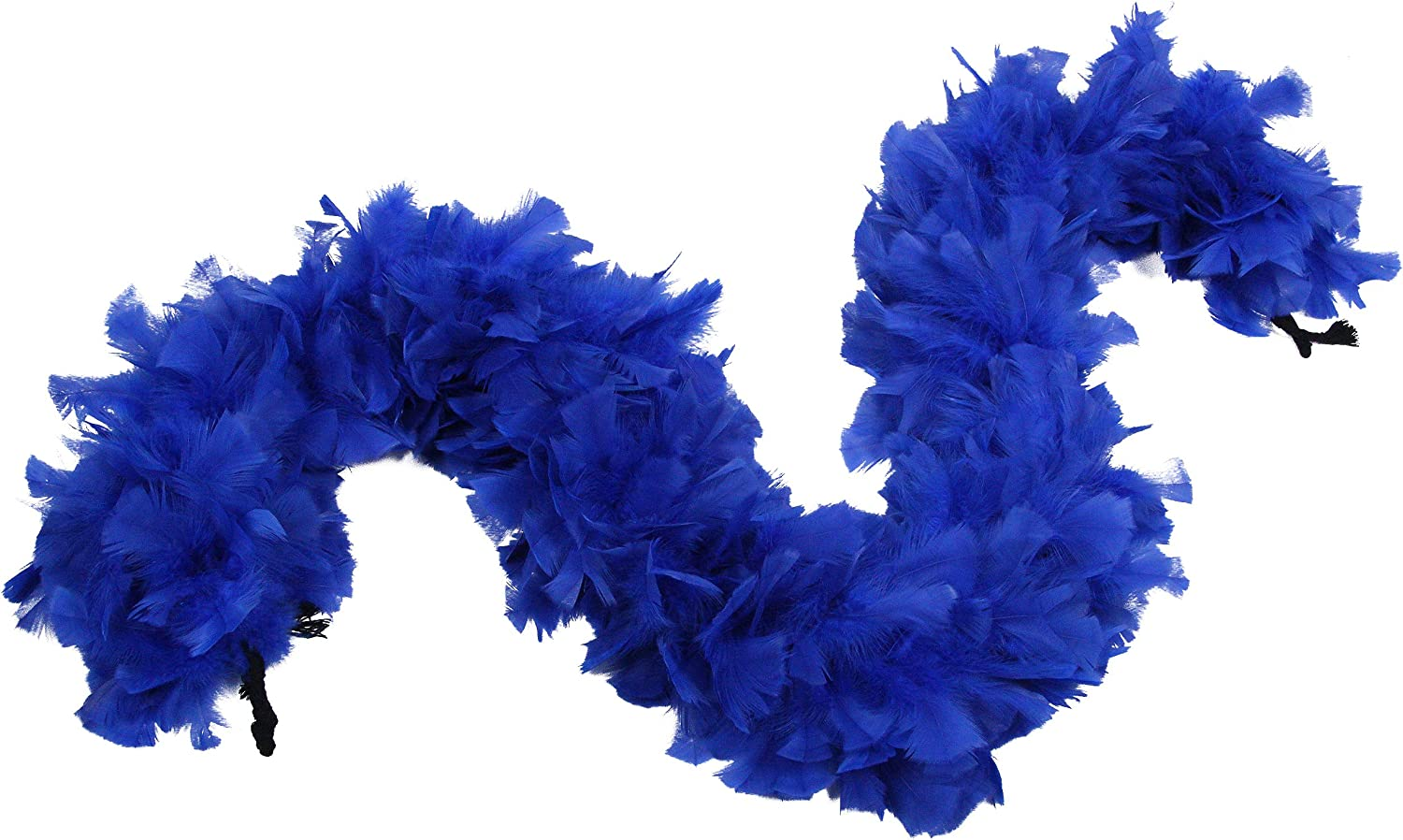 Ws/&Wt 2 Yards 150g Large Fluffy Turkey Ruff Feather Boa for Adult Halloween Cosplay Costume Accessory Holiday Decors