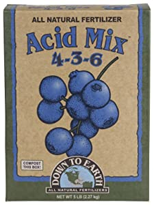 Down to Earth All Natural Acid Mix Fertilizer