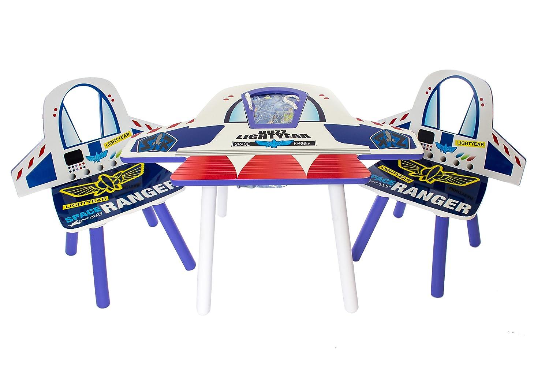 Conjunto de mesa y sillas para niños Disney Toy Story Buzz ...
