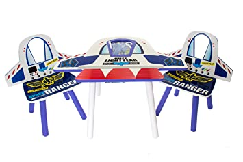 Childrens Table and Chairs Set Disney Toy Story Buzz Lightyear ...