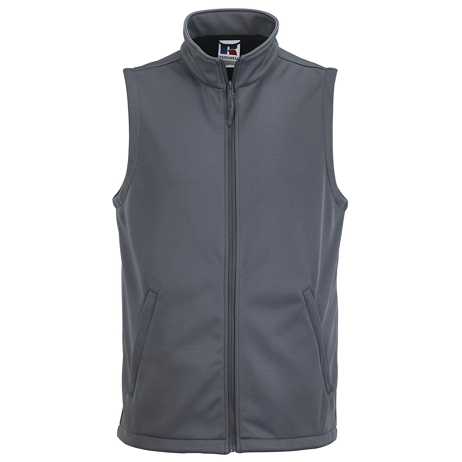 Russell Mens Smart Softshell Gilet Jacket: Amazon.co.uk: Clothing