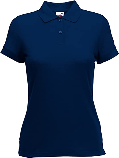 Fruit of the Loom Lady-Fit 65/35 - Polo para Mujer (Tallas XS, S ...