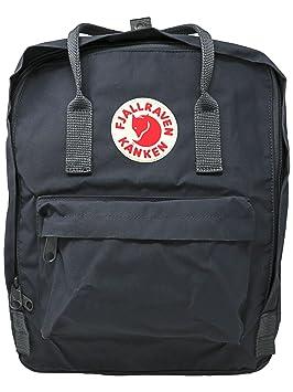 7e10b78007 Fjallraven Unisex Backpack Kanken, Graphite, 38 x 27 x 13 cm, 16 L ...