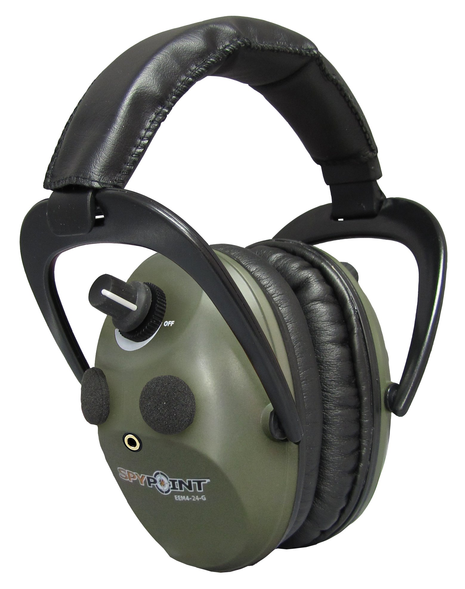 SPYPOINT EEM4-24-G Spy Pt, Electronic Em 4-24 Muffs, Green Army by SPYPOINT (Image #1)