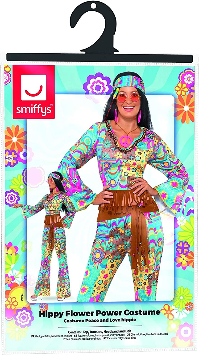 Dancing Flower Kit Comedy Adult Unisex Smiffys Fancy Dress Costume Accessory