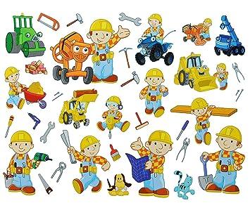Unbekannt 35 Tlg Xl Set Fensterbilder Sticker Bob Der