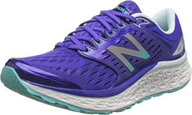 Zapatillas de running New Balance W1080v6, para mujer, color Morado, talla 36 2/3: Amazon.es: Zapatos y complementos