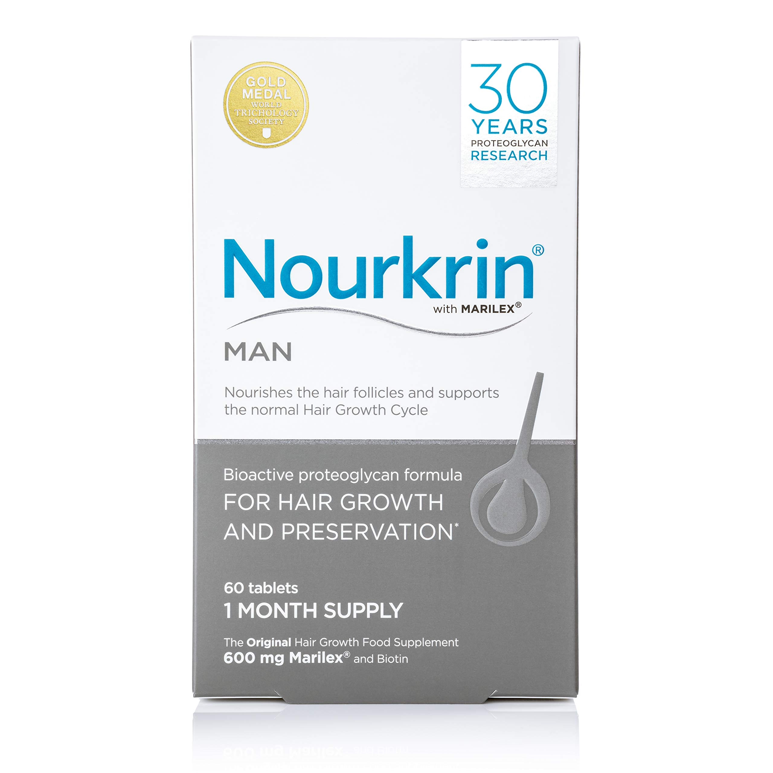 Nourkrin Daily Supplement for Man - Pack of 60