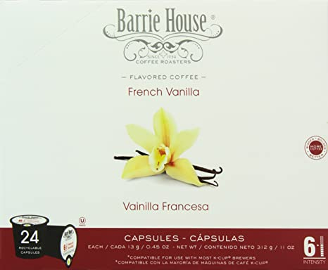 Barrie House French Vanilla Single Cup Capsules, 96 Count: Amazon.com: Grocery & Gourmet Food