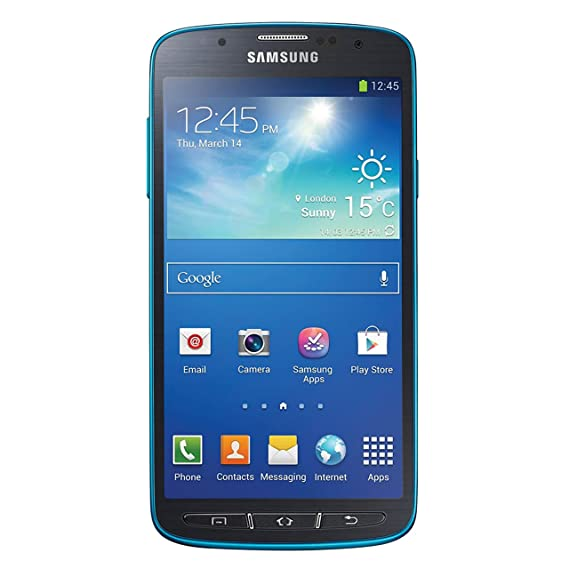 best loved 7b054 362a5 Samsung Galaxy S4 Active, Dive Blue 16GB (AT&T)