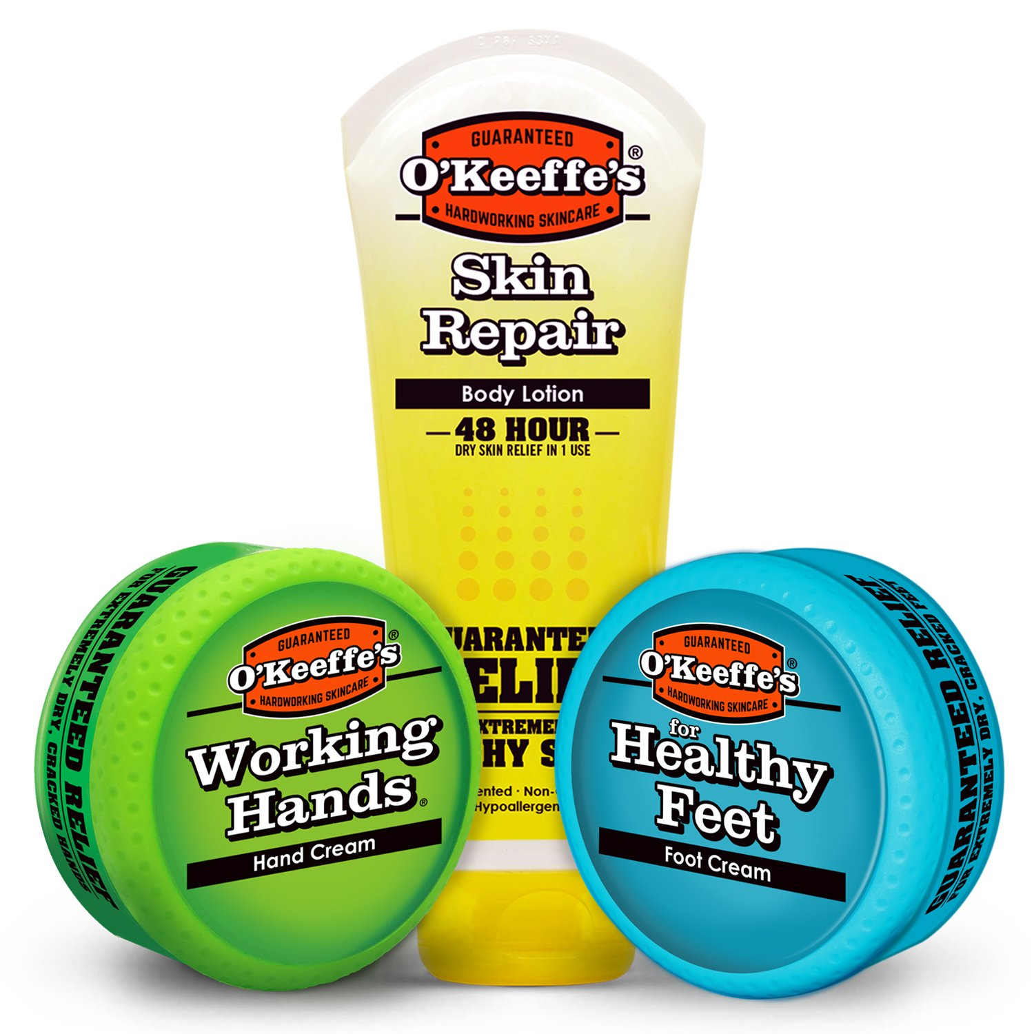 O'Keeffe's Working Hands, Healthy Feet, Skin Repair Variety Pack by O'Keeffe's