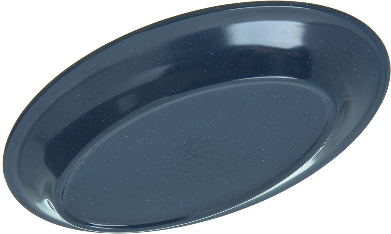 Pack of 24 9.25 x 6.25 Carlisle FoodService Products 43563-35 Caf/é Blue Carlisle 4356335 Dallas Ware Melamine Oval Platter Tray 9.25 x 6.25