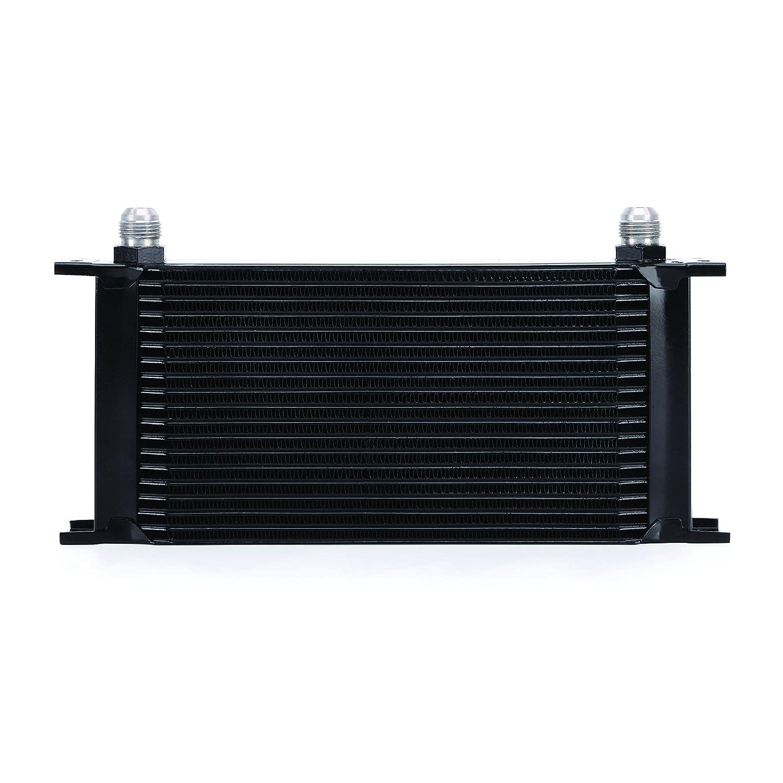 Mishimoto MMOC-19BK Black 19-Row Oil Cooler
