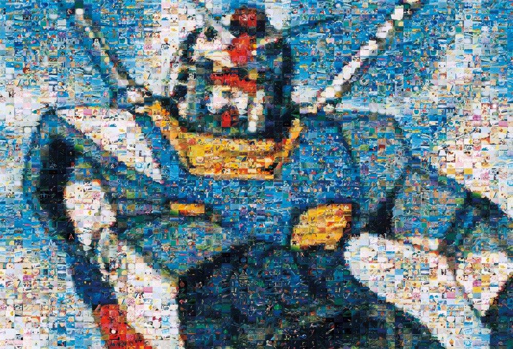 1000ピース ジグソーパズル 機動戦士ガンダム 一年戦争の記憶 (49x72cm)