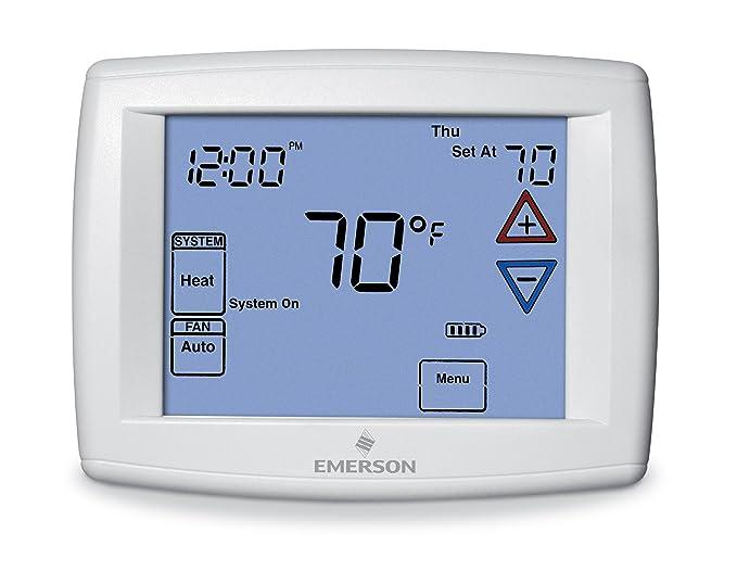 Emerson 1 F95 - 1277 pantalla táctil 7 días termostato programable: Amazon.es: Bricolaje y herramientas