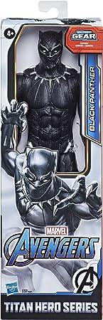 Avengers- Figuras Titan Black Panther (Hasbro E7876ES0)