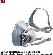 3M Pieza de media cara reutilizable Respirador 7500, protección respiratoria, S