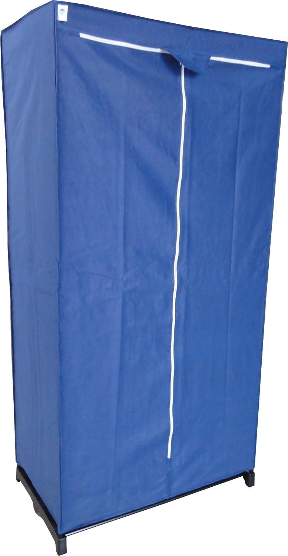 Store It 758639 Textiler Kleiderschrank blau ca. 160 x 80 x 50 cm ...