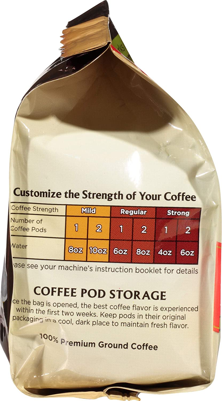 Melitta Coffee Pods for Senseo & Hamilton Beach Pod Brewers, Medium Roast,  18 Count Bag (Pack of 6)