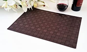 place mats washable table mats heat resistant non slip placemat dining. beautiful ideas. Home Design Ideas
