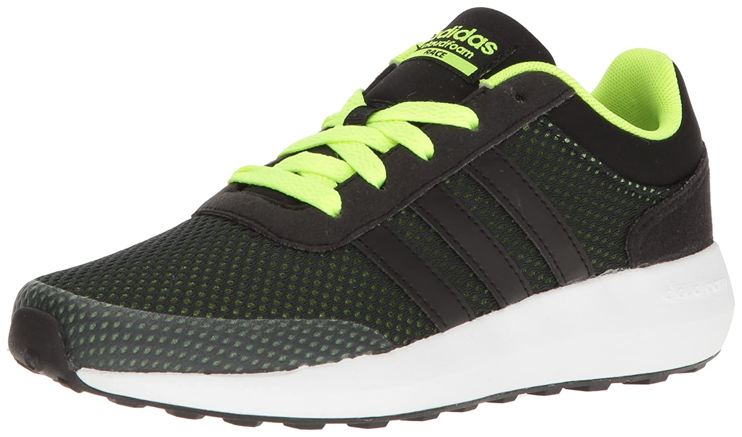 adidas Kids' Cloudfoam Race K Sneaker adidas Originals CLOUDFOAM RACE K - K