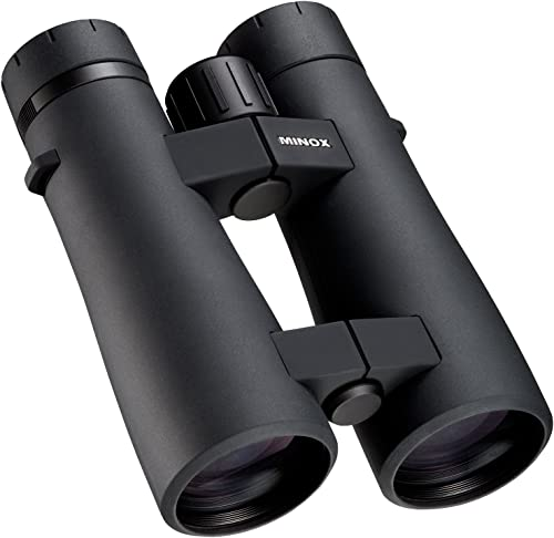 MINOX Comfort Bridge 62025 BL 10×52 BR Full Size Waterproof Binocular Black