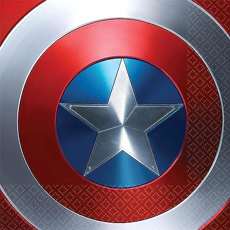 Amazon Com Captain America 3 Civil War Party Luncheon Napkins Big