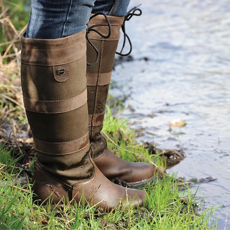 Waterproof Dublin River Boots-Chocolate UK7