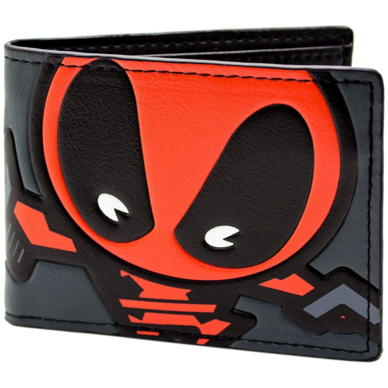 Marvel Deadpool Dessin anim/é Multicolore Portefeuille