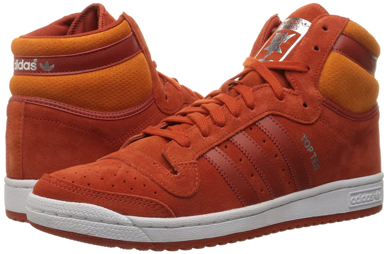 info for 374bf 0dde8 Amazon.com   adidas Men s Top Ten HI Fashion Sneaker   Fashion Sneakers