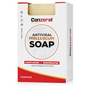 Conzerol Soap. Uses in conjunction with Conzerol Cream.