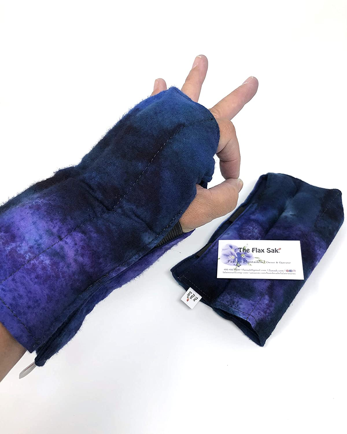 Wrist Arthritis Relief Present   Carpel Pain Glove   Heating Pad for Hands and Wrists   Blue