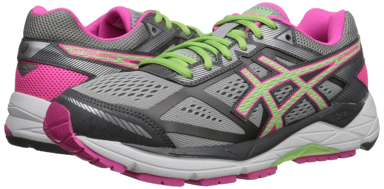 ASICS Women's GEL-Foundation 12 US|Silver/Pistachio/Pink Running Shoe B00OU9L75E 8 B(M) US|Silver/Pistachio/Pink 12 Glow 930772