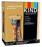 Kind Caramel Almond and Sea Salt Bar 40 g (Pack of 12)