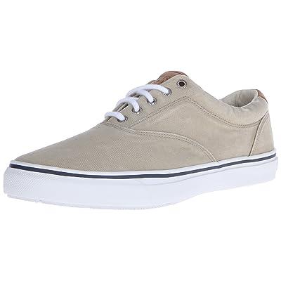 Sperry Mens Striper LL CVO Sneaker, Chino, 7 | Fashion Sneakers