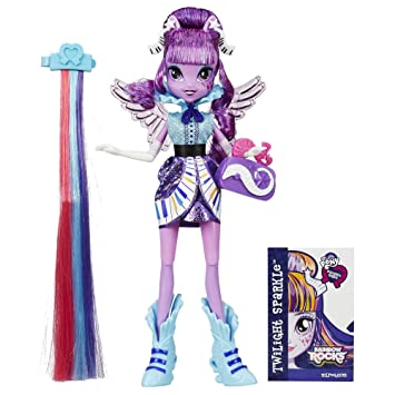 Strange Amazon Com My Little Pony Equestria Girls Rainbow Rocks Twilight Hairstyles For Men Maxibearus