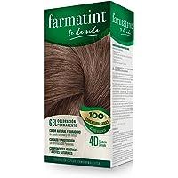 Farmatint Gel 4D Castaño Dorado   Color natural y duradero   Componentes vegetales y aceites naturales   Sin amoníaco…