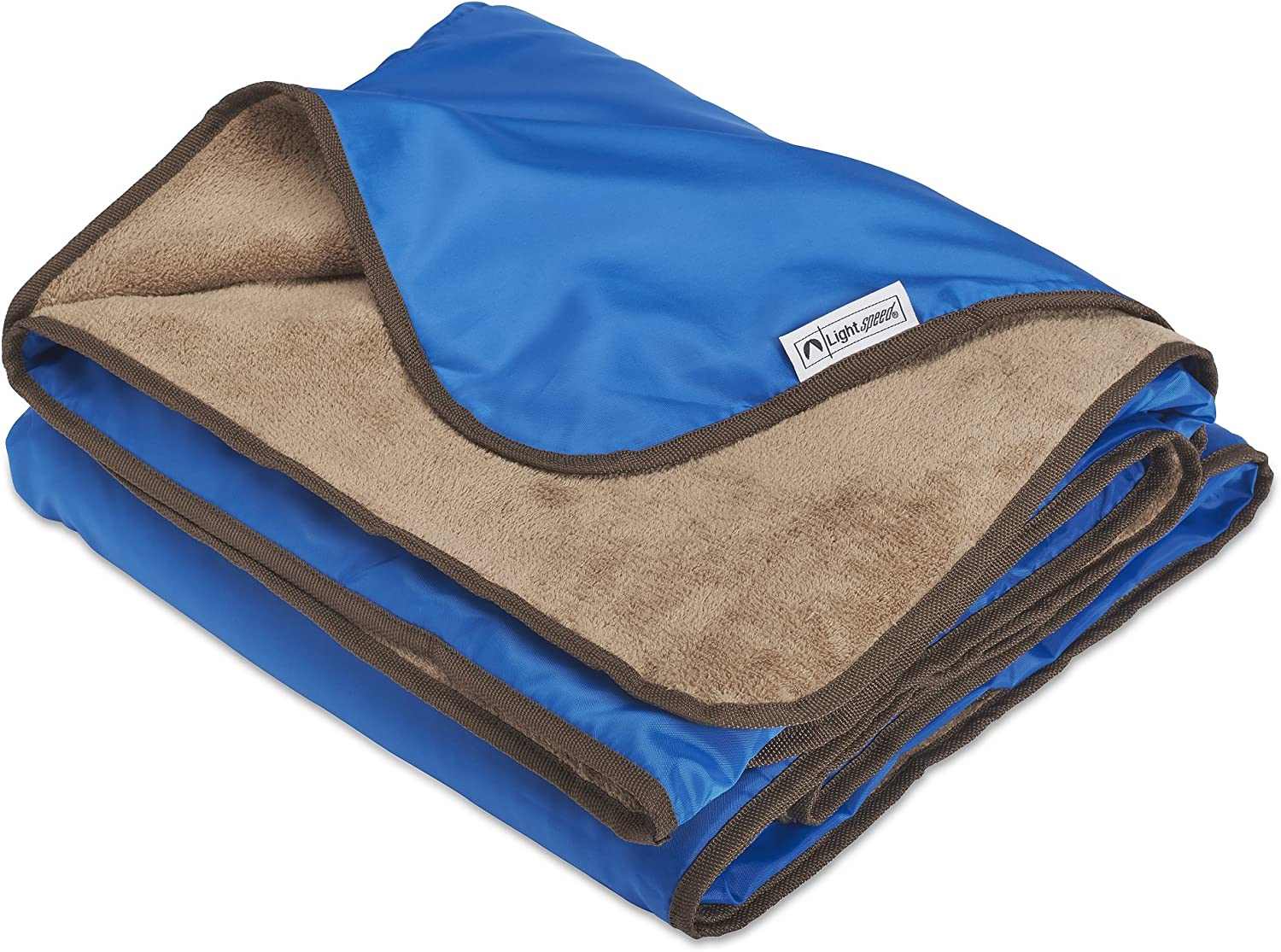 Lined With Flannel Camping Picnic BYENE Outdoor Windproof Waterproof Blanket With Hooded Suitable for Stadium