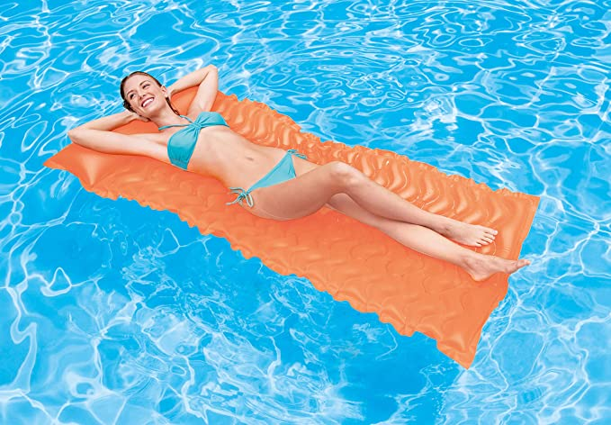 Intex Recreation Tote-N-Float Wave Mat 58807E Inflatable Toys (Colors May Vary)