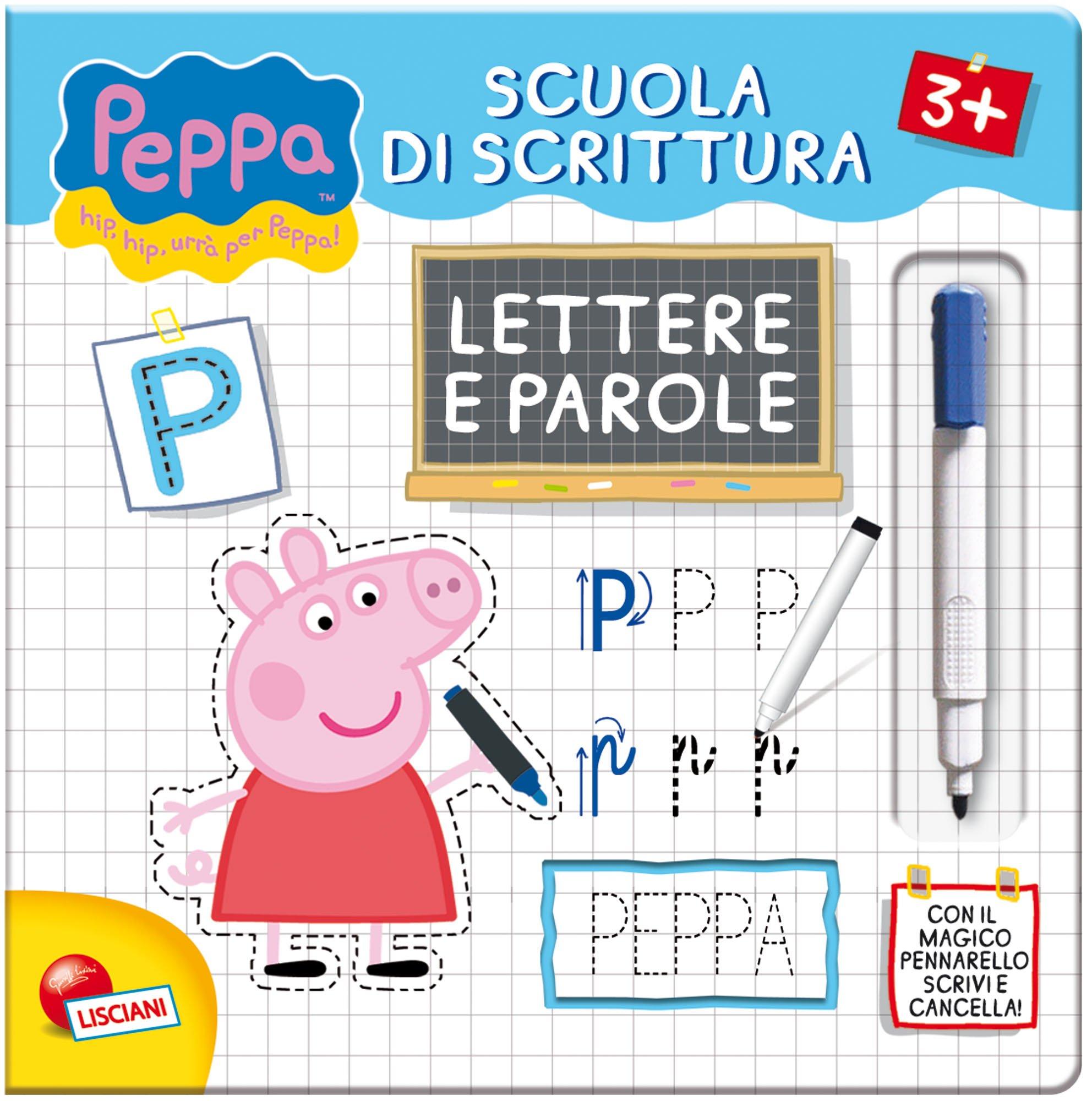 Leggi E Impara Con Peppa Pig Scuola Di Scrittura Lettere E Parole