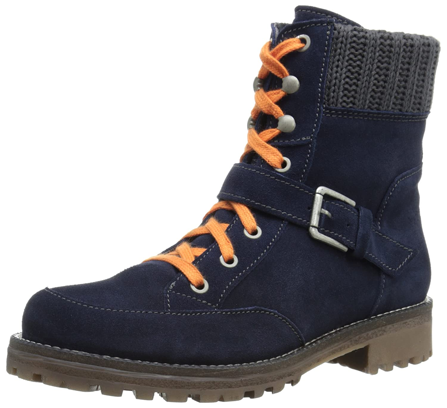 Bos. & Co. Women's Colony Boot B00VTCR8OY 37 EU/6.5-7 M US|Navy Grey