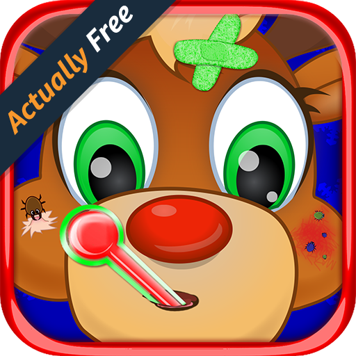 Christmas Pet Vet – Animal Doctor Reindeer, Dog, Snow Yeti & Zoo Hospital Surgery Boy and Girl Kids Game FREE