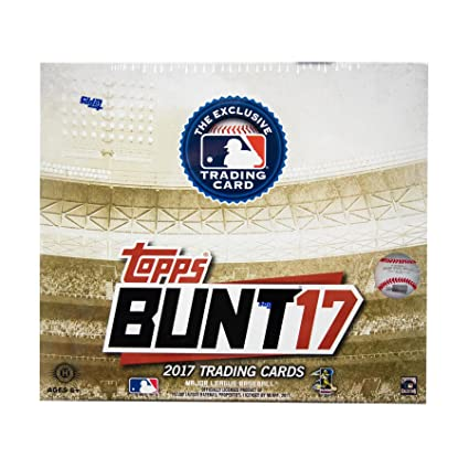 Amazoncom 2017 Topps Bunt Baseball Unopened Sealed Box Search For