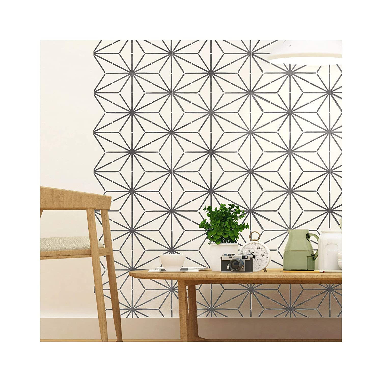 Meubles Petit KYOTO Meubles Mur Sol Pochoir Pour Peinture